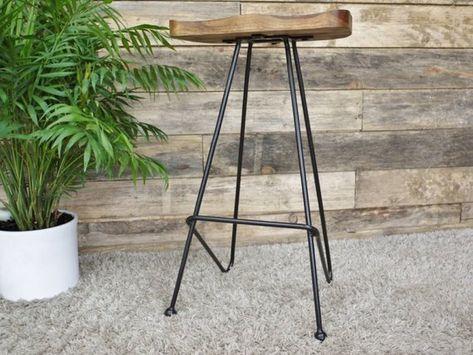 Tremendous Wood And Metal Bar Stool Bar Stools Metal Bar Stools Machost Co Dining Chair Design Ideas Machostcouk