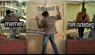 Viral Binod Memes Images Memes In Hindi Binod Memes Kya Hai Statuspictures Com Funny Memes Images Memes Avengers Funny