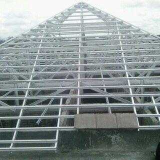 baja ringan yogyakarta kontraktor jenis material rangka atap anti