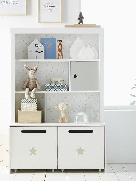 Hohes Kinderzimmer-Regal \'Sirius\' - weiß/grau - 3 in 2019 ...