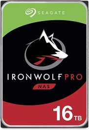 Seagate St16000ne000 Ironwolf Pro Nas 16tb 7200rpm Sata 6gbps 3 5 Inch Hard Drive In 2020 Seagate Network Attached Storage Hdd
