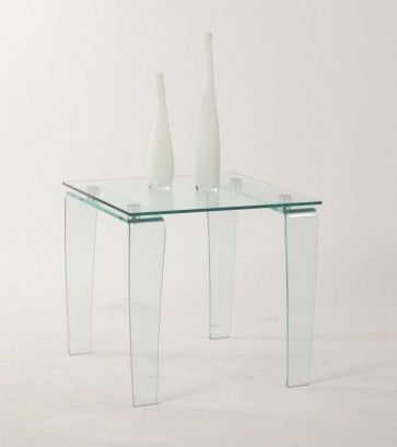 Vera Lamp Table Chintaly Table Lamp Tempered Glass