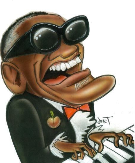 Ray Charles Robinson was an American singer, songwriter, musician, and composer who is sometimes referred to as Cartoon People, Cartoon Faces, Funny Faces, Cartoon Art, Caricature Artist, Caricature Drawing, Funny Caricatures, Celebrity Caricatures, Black Art Pictures