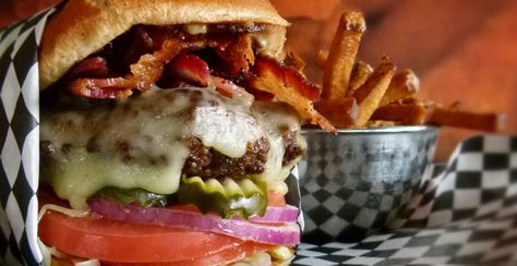 Bad Daddy's Burger Bar - Park West Village Shopping Center, 3300 Village Market Place, Morrisville (Burgers and Salads are amazing)