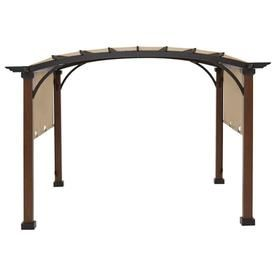 Garden Winds Replacement Canopy For Freestanding Pergola Rip Lock 350 Lowes Com In 2020 Outdoor Pergola Pergola Patio Wooden Pergola