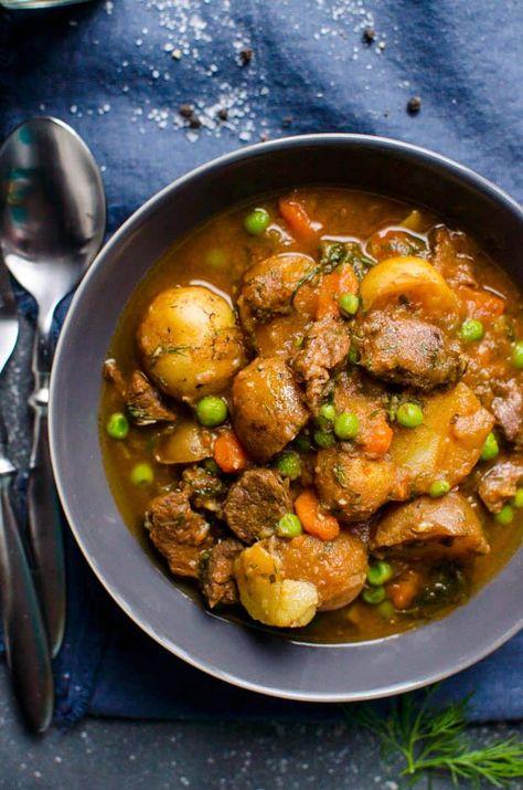 Instant Pot Beef Stew {2 Secret Ingredients} - iFOODreal.com