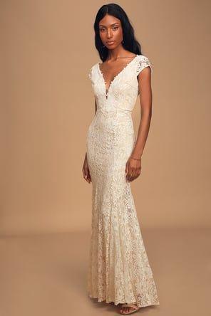 Alianna White Lace Mermaid Maxi Dress In 2020 Long Sleeve Maxi Dress Maxi Dress With Sleeves Lace Maxi Dress
