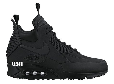 buy online e4865 18554 Nike Air Max 90 Sneakerboot (Zima 2015) Ilustracje-3