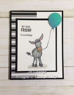 Masculine Birthday Cards, Masculine Cards, Homemade Birthday Cards, Homemade Cards, Stampin Up Karten, Glitter Balloons, Stamping Up Cards, Animal Cards, Card Tutorials