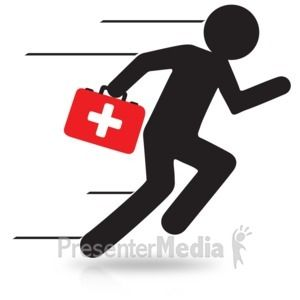 First Aid Kit Running Signs And Symbols Great Clipart For Presentations Www Presentermedia Com First Aid Kit Aid Kit Clip Art