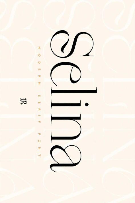 Selina - Modern Serif
