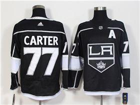 Los Angeles Kings #77 Jeff Carter Home Black Jersey   Nhl jerseys ...