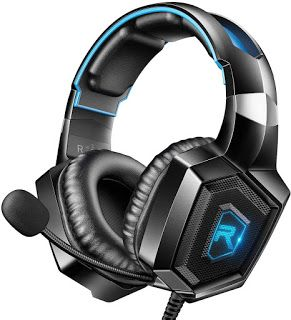 Runmus Stereo Gaming Headset For Ps4 Xbox One Nintendo Switch Pc Ps3 Mac Laptop In Ear Headphones Ps4 Headse Ps4 Headset Gaming Headset Xbox One Headset