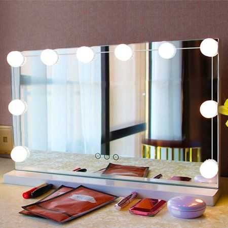 Free Shipping Buy Hollywood Style Led Vanity Mirror Lights Lamp Kit 10pcs Makeup Hollywood Mirror With Led Lights Makeup Mirror With Lights Mirror With Lights