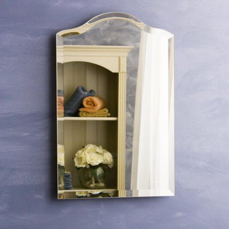 Free Shipping Buy Afina Scallop Top Large Medicine Cabinet At
