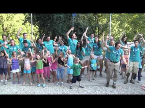 """Popcorn Song"" YMCA Camp Streefland Family Night - YouTube"