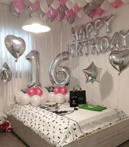 birthday surprise ideas in room