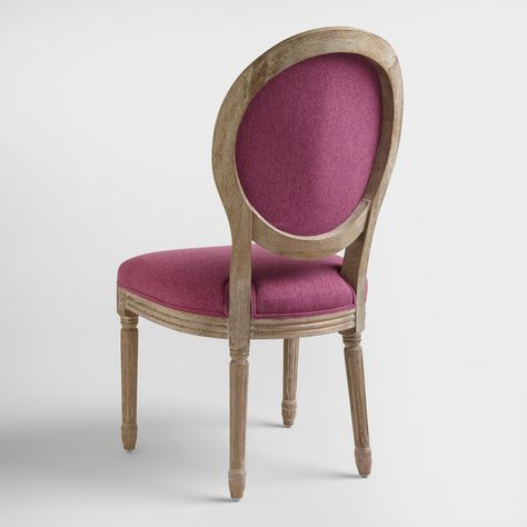 Astounding Boasting A Curved Shapely Silhouette And Raspberry Pink Andrewgaddart Wooden Chair Designs For Living Room Andrewgaddartcom
