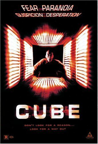 Cube Dvd Walmart Com In 2021 Scary Movies Cube Film Psychological Thrillers