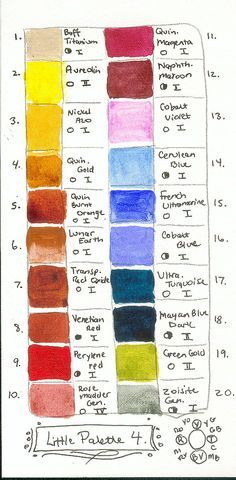 Image Result For Arranging John Pike Watercolor Palette