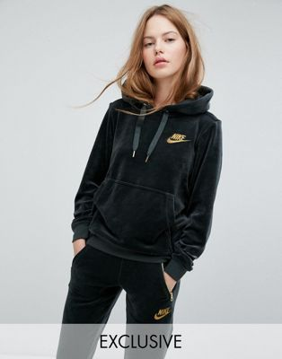 In Velour Exclusive Outdoor Pullover Nike Hoodie GreenStyle f76gvYyb