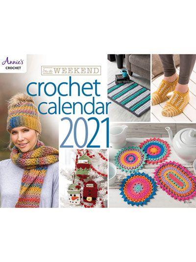 Crochet Calendar 2021 Wallpaper