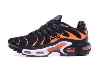 Wholesale Nike Air Max Plus TXT Black Orange White Sneakers Men's ...