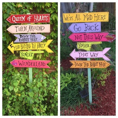 Custom Outdoor Garden Sign On A Stake Or Without A Stake 2 Signs Included In 2020 Garden Signs Directional Signs Great Housewarming Gifts
