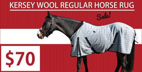 Snug Kersey Wool Regular Neck Horse Rug Rugs