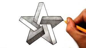 Résultats De Recherche D Images Pour Star Drawing Illusion Drawings Drawing Stars Illusion Art