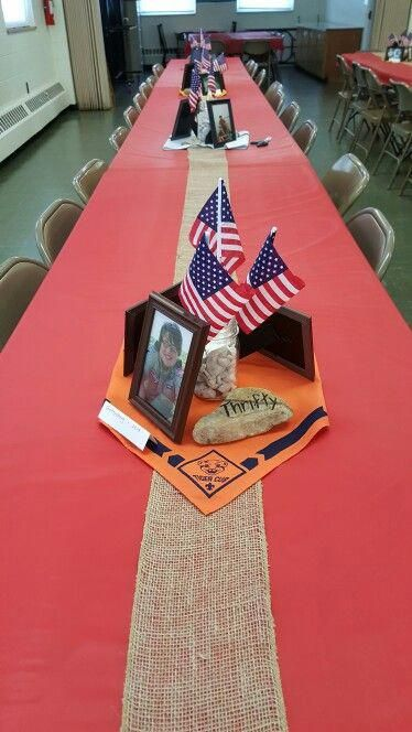 Centerpieces Eagle Scout Court of Honor