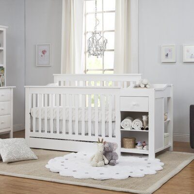 Davinci Piedmont 4 In 1 Convertible Crib And Changer With Storage Birch Lane In 2020 Crib Toddler Bed Baby Cribs Cribs