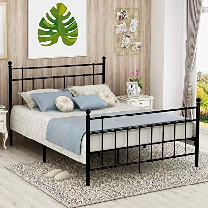 Iron Bed Frame Queen For Long Lasting Style Bed Frame And