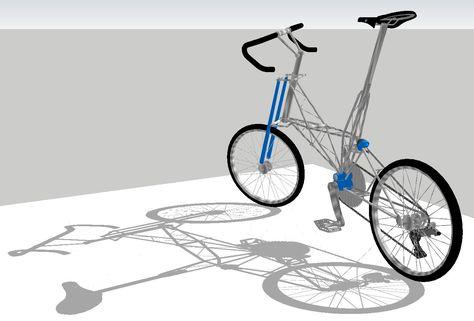 Moulton Bike Sketch Dengan Gambar