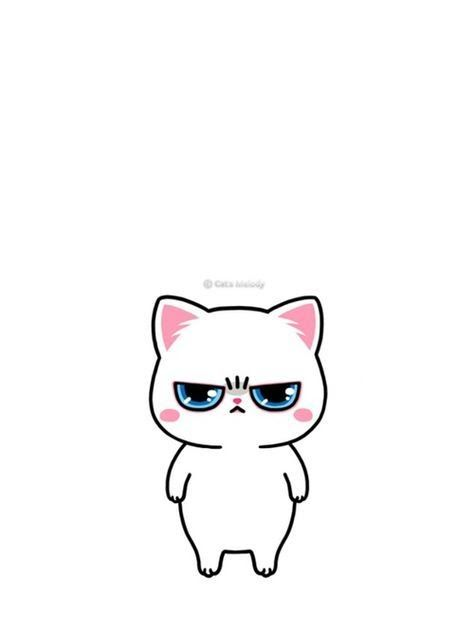 Anime White Cat Wallpaper Animals Background And Cat Image Anime In 2019 Cute Shironeko Project White Cat Wallpaper Cute Anime Cat Anime Wallpaper Download