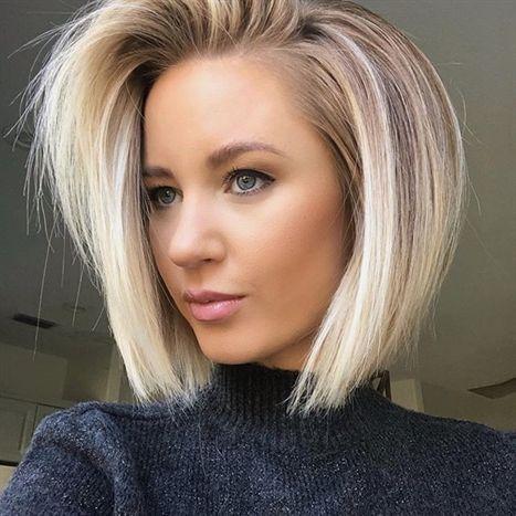 Short Hairstyles Layeredbobhairstyles In 2019 Frisuren