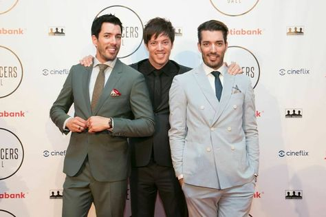 At The Producers Ball 2014 Scott Brothers Jonathan Scott Handsome