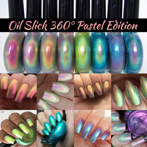 POP Polish The Full Oil Slick 360 Pastel Edition MultiChrome | Etsy