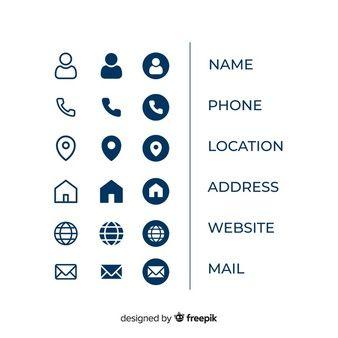 Flat Creative Business Card Template Vector Premium Download Business Card Icons Free Business Card Templates Vector Business Card