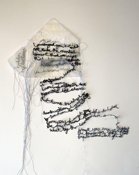 Maria Wigley artiste textile