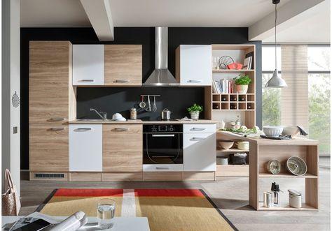 15 best Moderne Küchenzeilen images on Pinterest - komplett küchen mit elektrogeräten