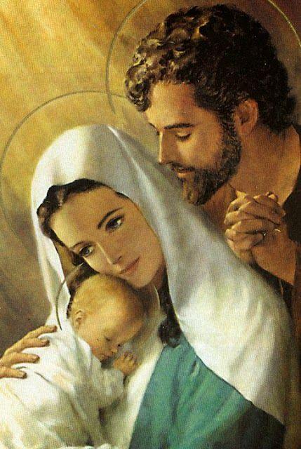 Imagenes Sagrada Familia Navidad.Pinterest
