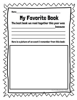 Free Library Worksheets For The End Of The School Year School