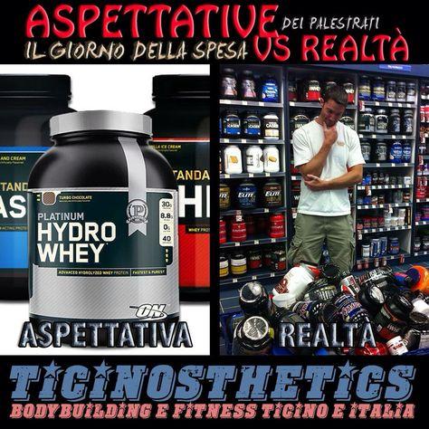 Aspettative Vs Realta Dei Palestrati Il Giorno Della Spesa Ticinosthetics Bodybuilding Fitness Salute Fitness Bodybuilder E Palestra