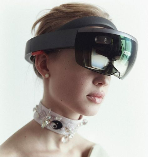 Martine Jarlgaard London will show her collection at London Fashion Week using Hololens mixed reality (Image: Brendan Freeman)