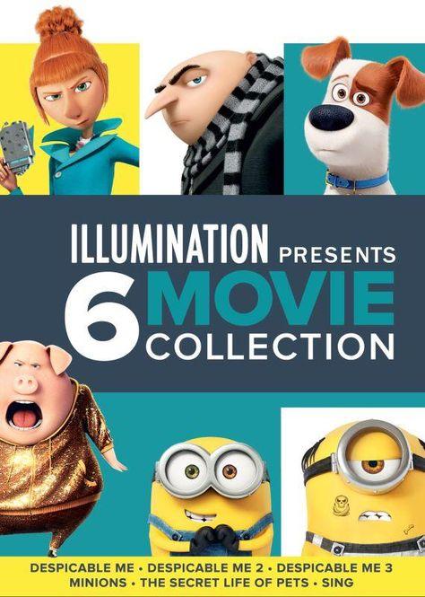 Illumination Presents: 6-Movie Collection [DVD]