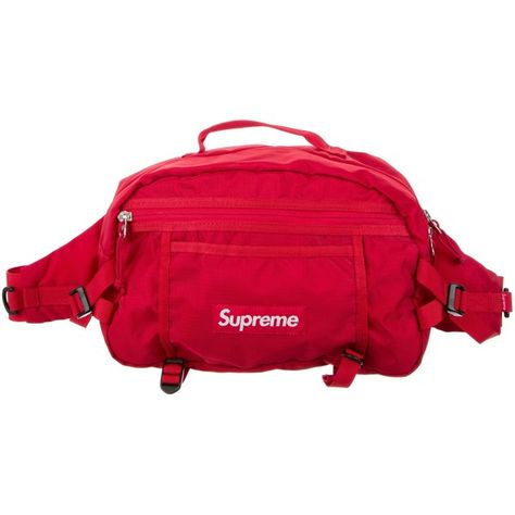 a51d269af581 Pre-owned Supreme 2017 Box Logo Waist Bag ( 325) ❤ liked on Polyvore  featuring men s fashion