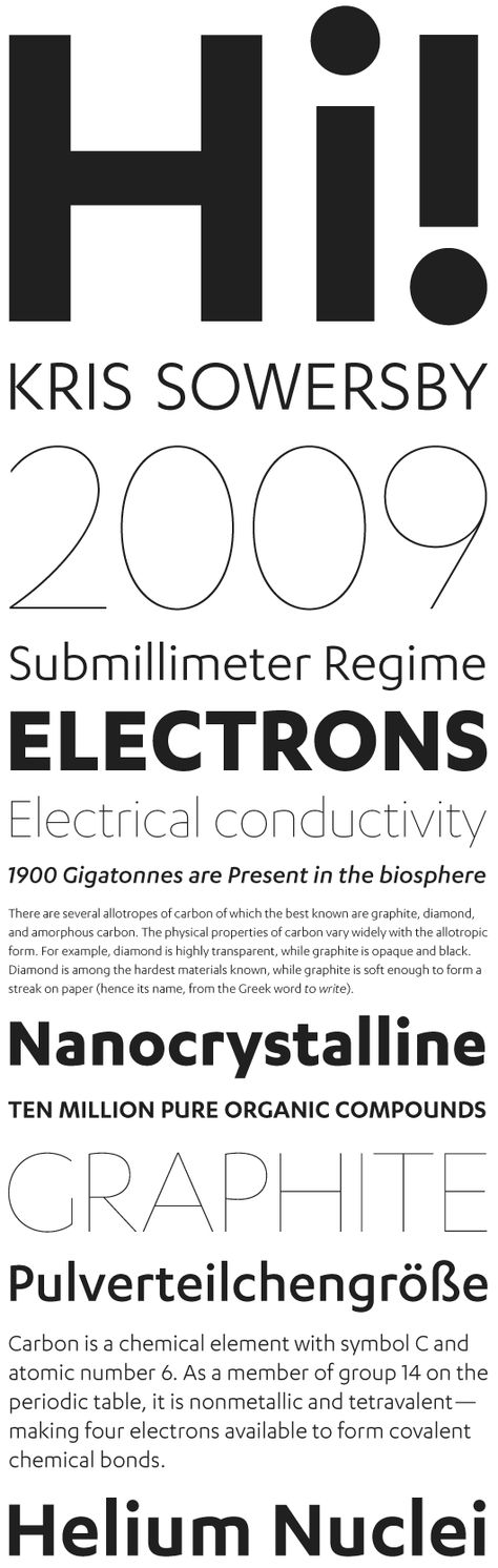 grotzec headline nice condensed headline typeface typefaces periodic table - Periodic Table Diamond Symbol