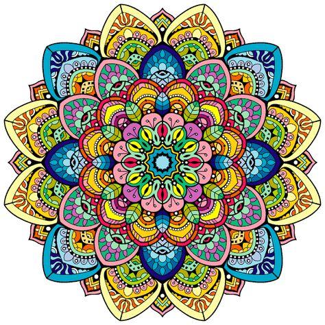 Espacio de imágenes y palabras...: Mandala LXXIII
