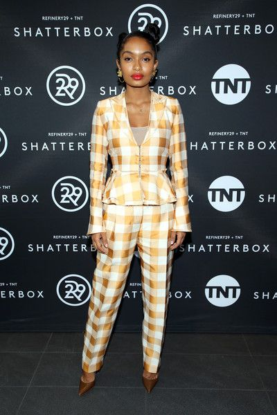 Yara Shahidi celebrates Shatterbox with Refinery 29 and TNT during 2018 Toronto International Film Festival.
